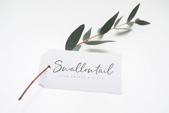 Create lovely tags.