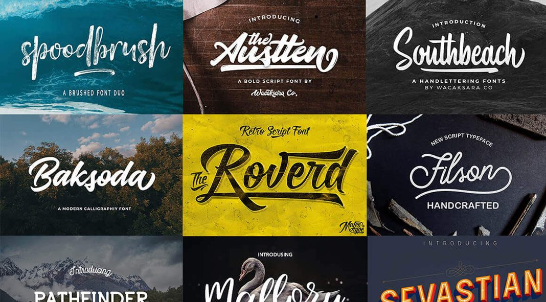 Fontelicious font bundle – 61 high-quality fonts.