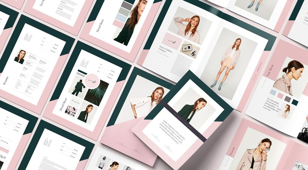 GALERIE Pitch Pack - Adobe InDesign template from Studio Standard.