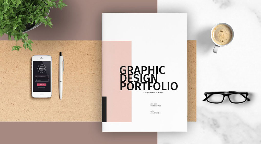 Fashion photography portfolio book