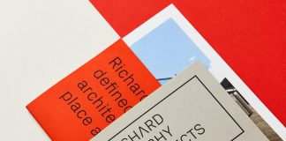 Graphic design and branding by Touch Agency for Richard Murphy Architects.