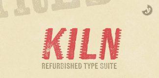 Kiln font family by Yellow Design Studio.