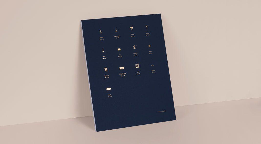 Matter Made catalog design by Lotta Nieminen.