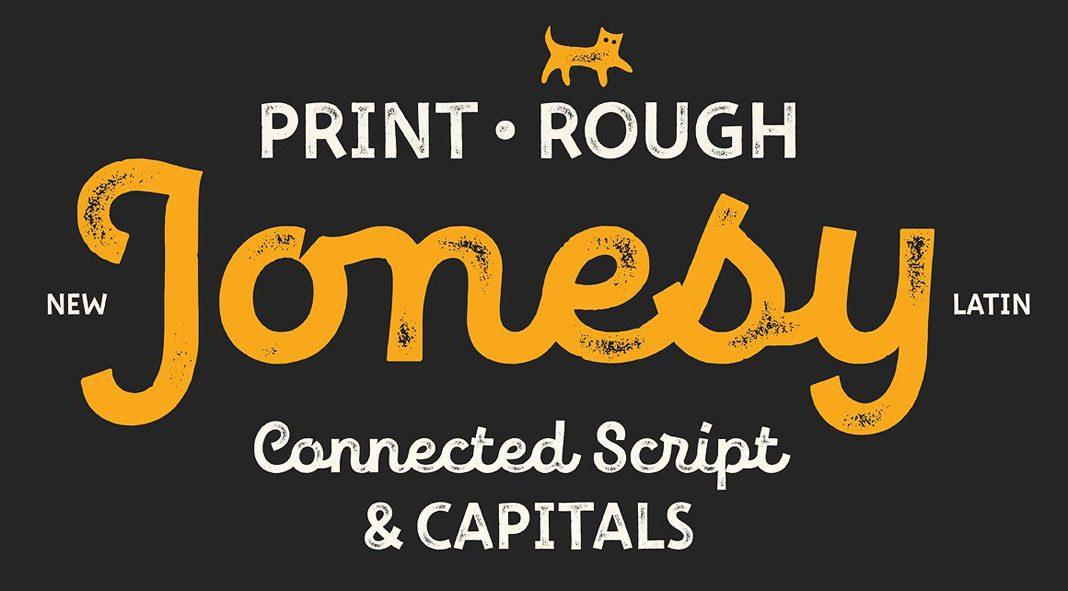 New Jonesy Latin – font family by Ksenia Belobrova.
