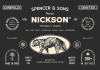 S&S Nickson Font Bundle.