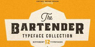 The Bartender Collection - 12 vintage fonts from Vintage Voyage Design Co.