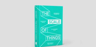 The Scale of Things, a new book by Mike Fairbrass and David Tanguy, published by Quadrille.