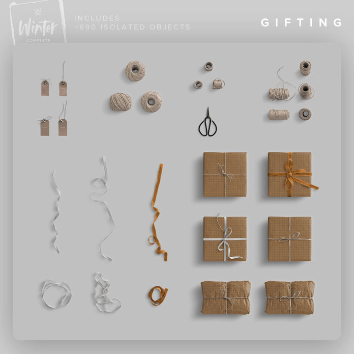 Winter gifting items.