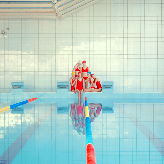 Girl Pool – Photography by Maria Svarbova.
