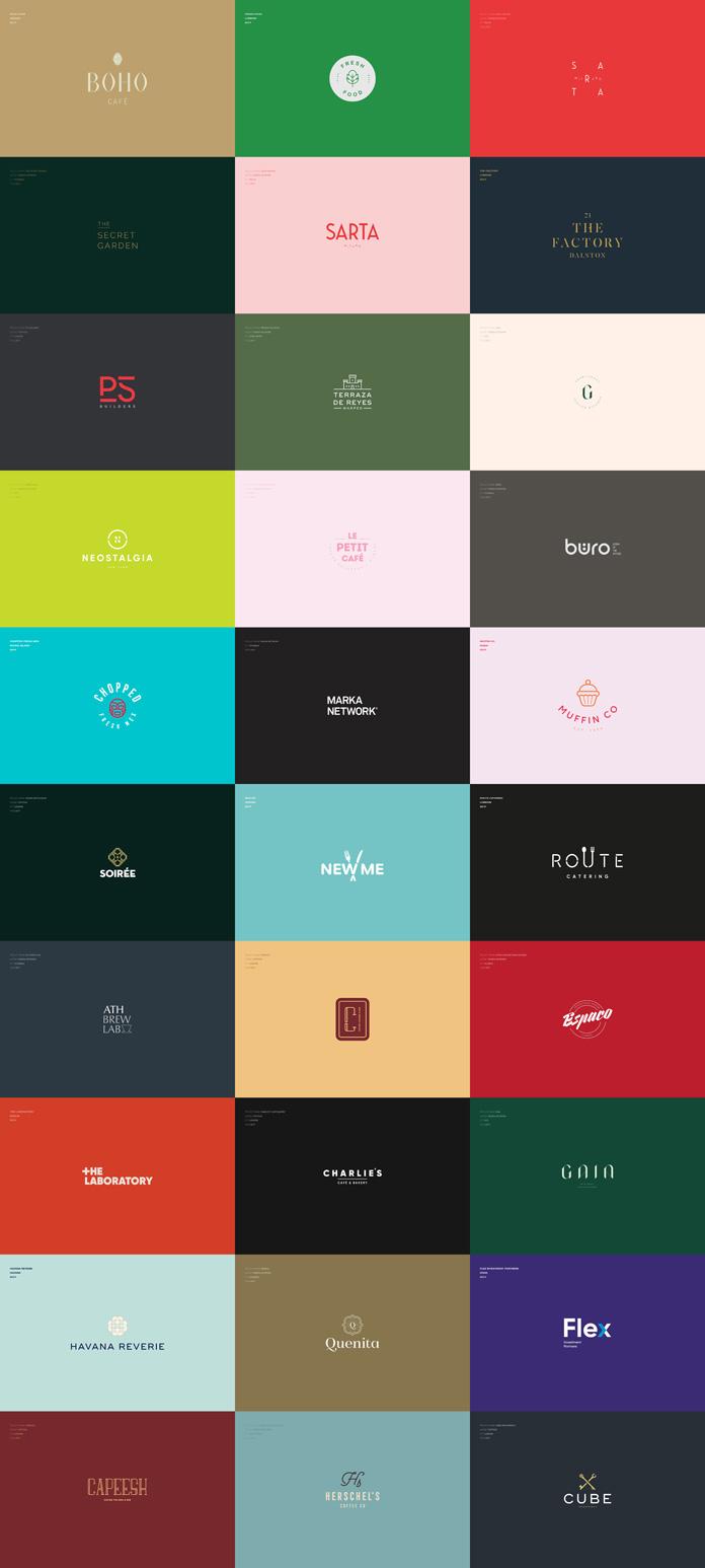 Logo designs by Marka Network.