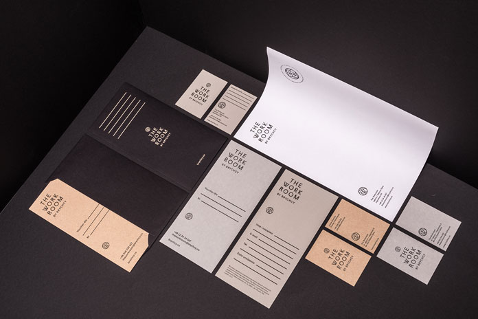 The Work Room by Brychcy – Graphic Design and Branding by Blürb Studio