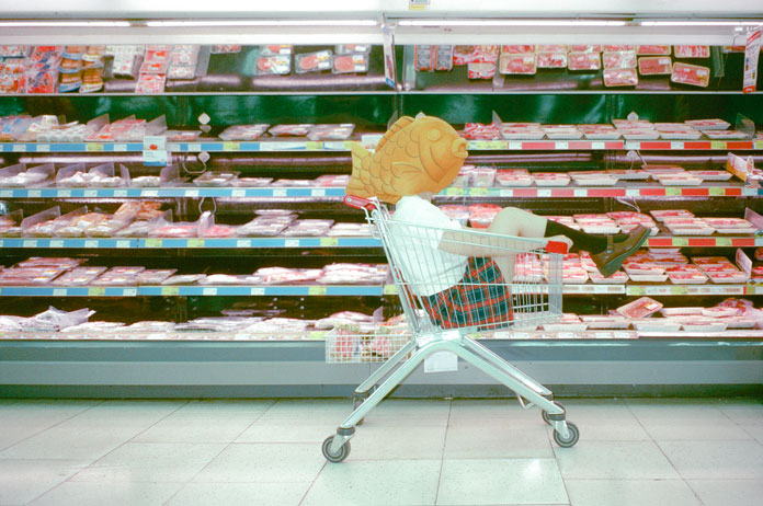 Cielo Yu Photography, in the supermarket.