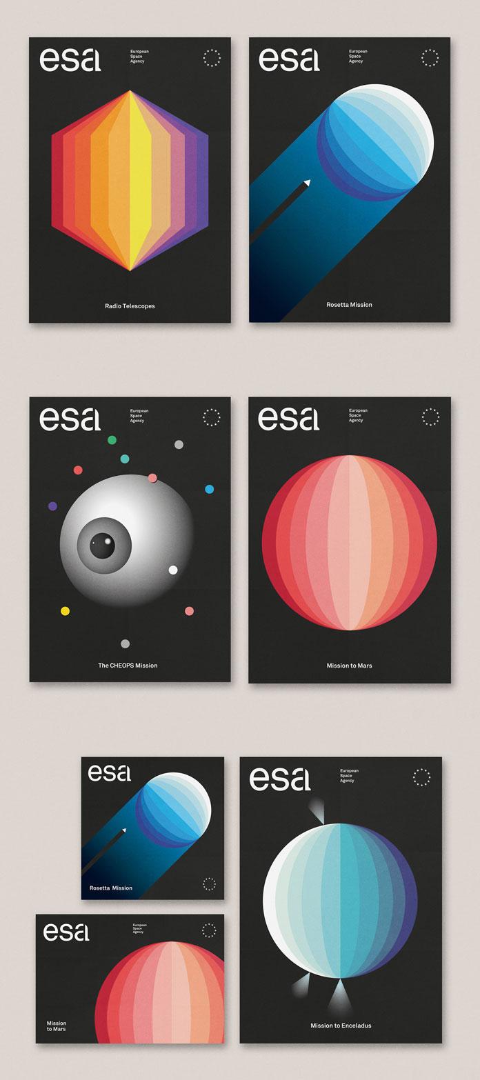 ESA – concept brand identity by Tata&Friends Studio.