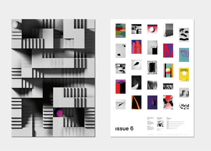 Werken 6 by bureau mitte for Graphic design frankfurt