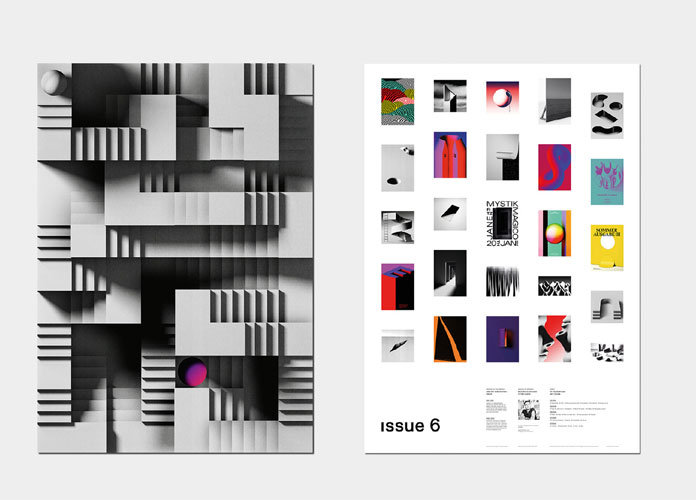 It features Frankfurt-based graphic designer and artist Timo Lenzen.
