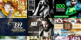 5985 Premium Lightroom Presets