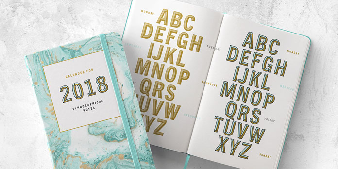 Take advantage of color to create lively and compelling typography.
