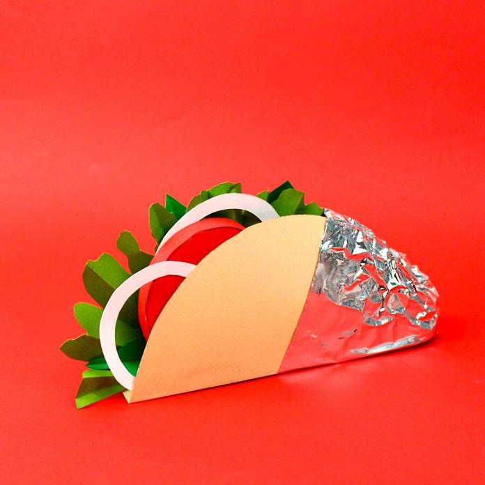 A delicious wrap.