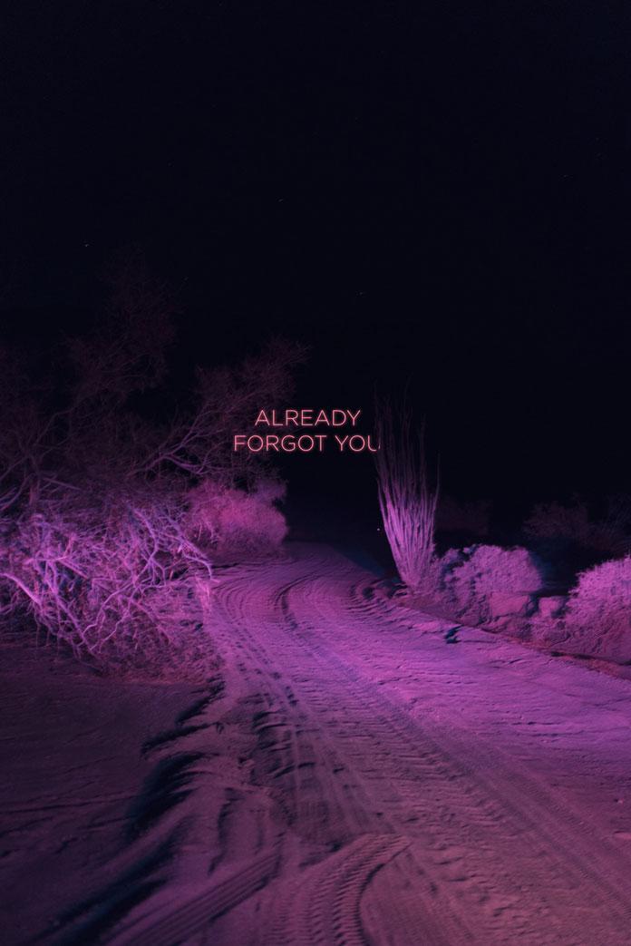 Already forgot you.