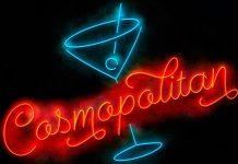 Cosmopolitan script and sans fonts.