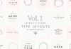 Logotype templates - text based logos by Maggie Molloy.