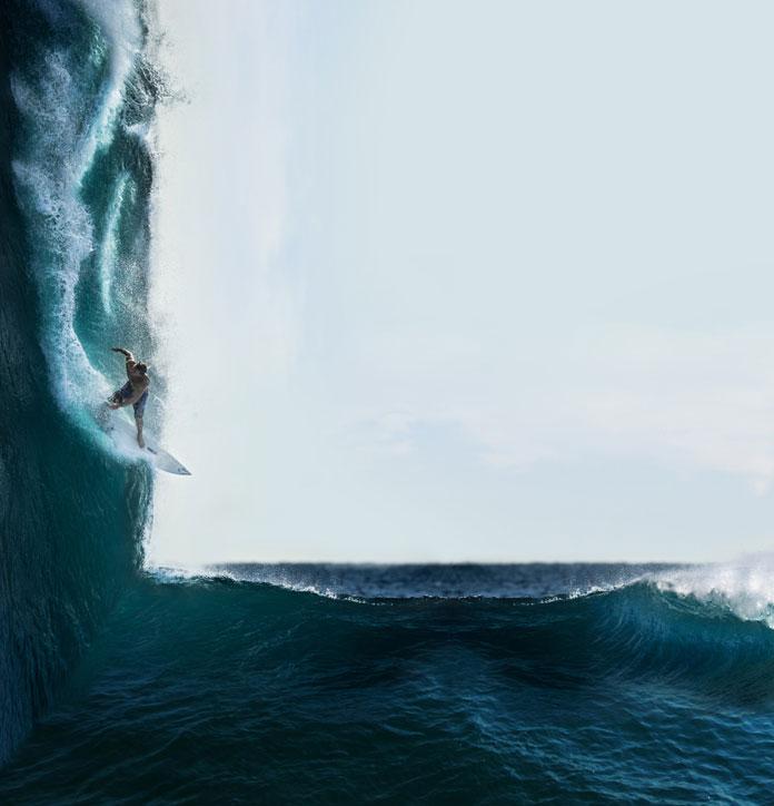 Victoria Siemer aka Witchoria, Surfs up.