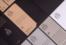 The Work Room by Brychcy – graphic design and brand development by Blürb Studio.