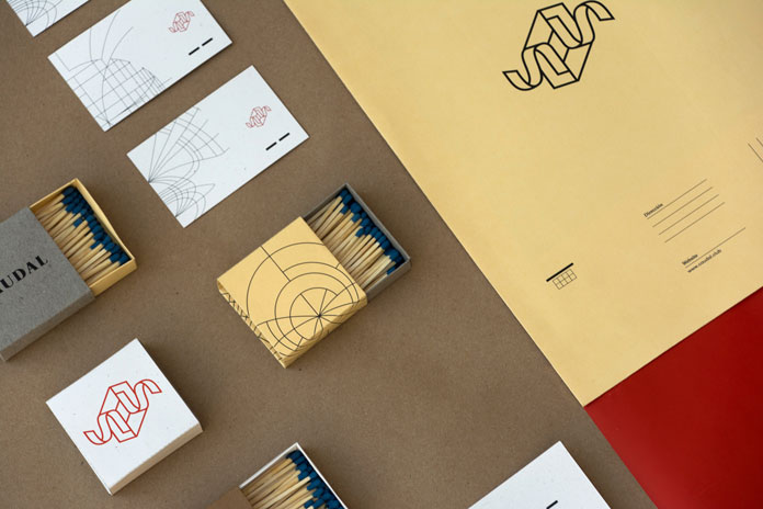 Caudal event agency - graphic design and branding by Mariela Mezquita.