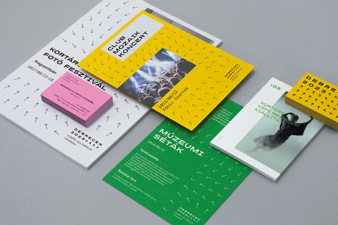 Debrecen 2023 - graphic design by Classmate Studio.