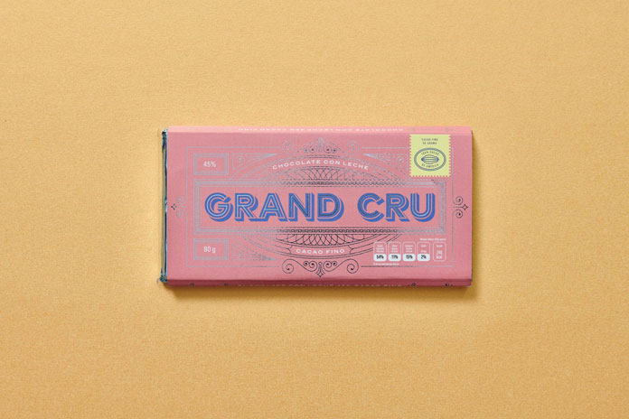 Grand Cru - brand and packaging design by Parametro Studio.