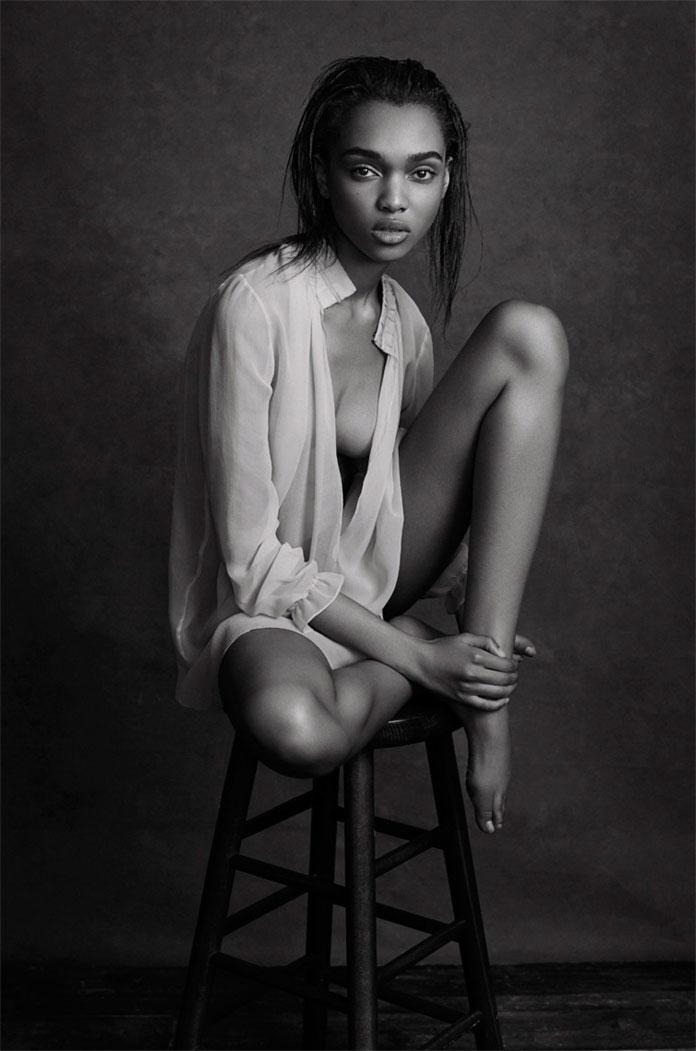 Michael Schwartz Photography, Black and white beauty portrait.