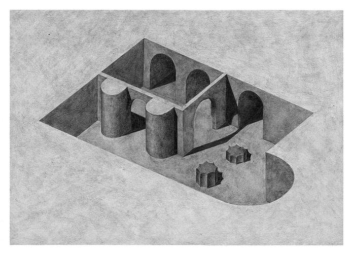 Pia-Mélissa Laroche, Surreal drawings