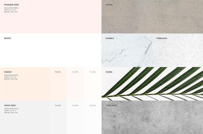 Color scheme.