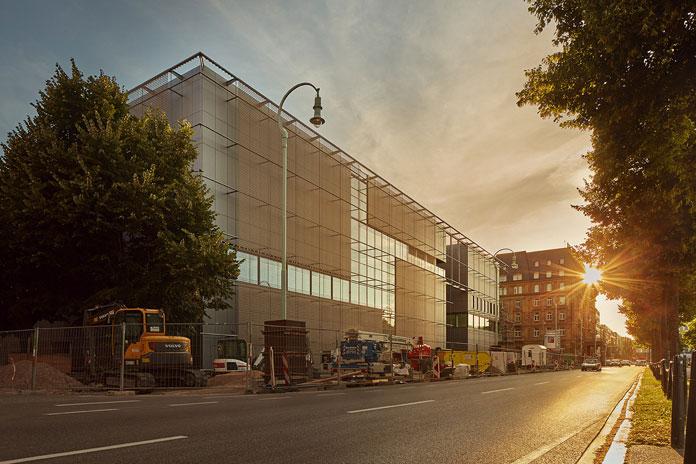 Neubau Kunsthalle Mannheim – street view.