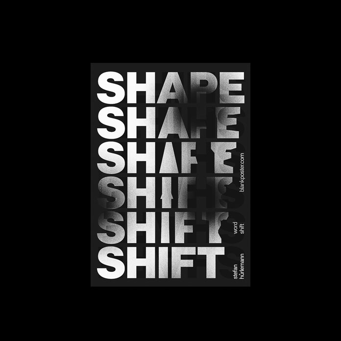 Shifting shape.