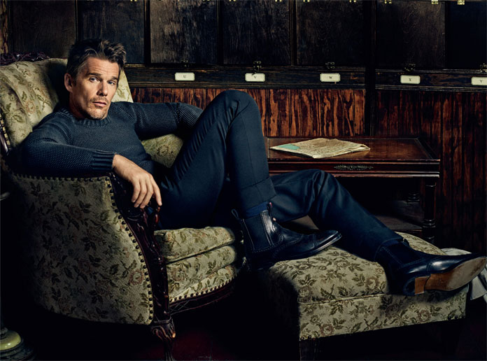 Michael Schwartz Photography, Ethan Hawke for Icon.