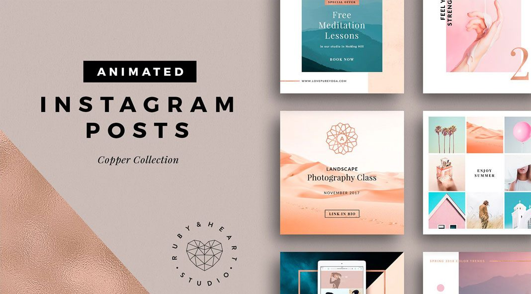 Animated Instagram Posts