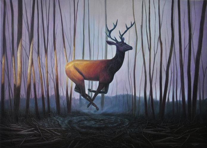 Artist Mladen Vračarić, Forest Spirit