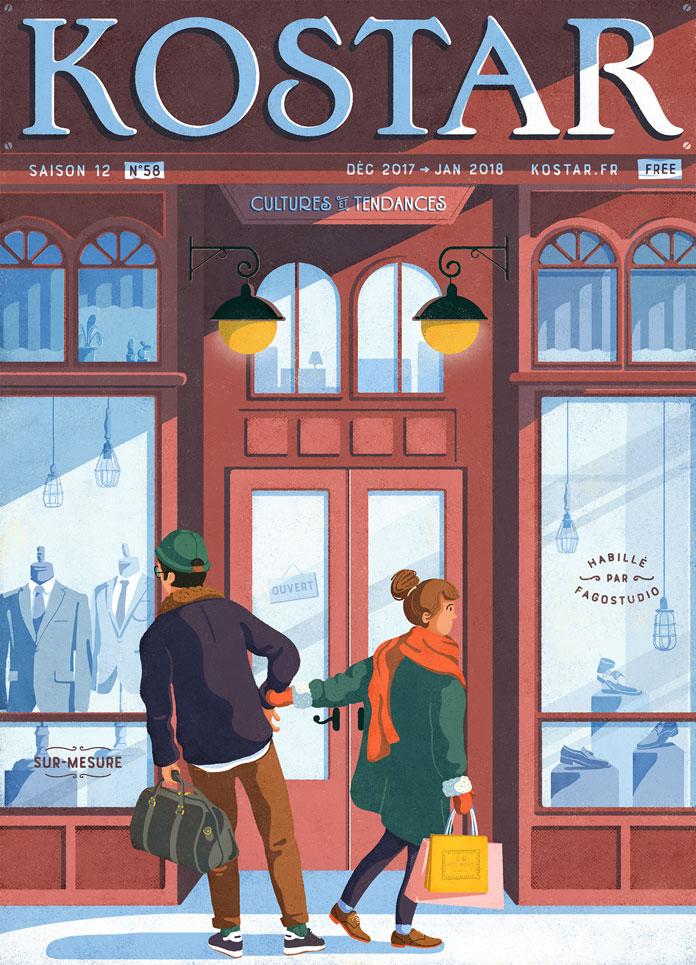 Fago Studio, Kostar Magazine – Winter issue