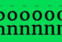 Skema Pro, a versatile font system of 6 serif typefaces.