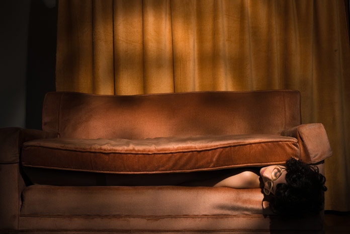 Tania Franco Klein Photography, The Couch, Self-portrait, 2016