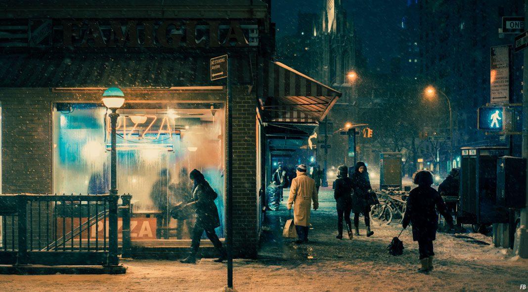 Velvet Snow, a photo series by Franck Bohbot.