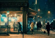 Velvet Snow, a photo series by Franck Bohbot.