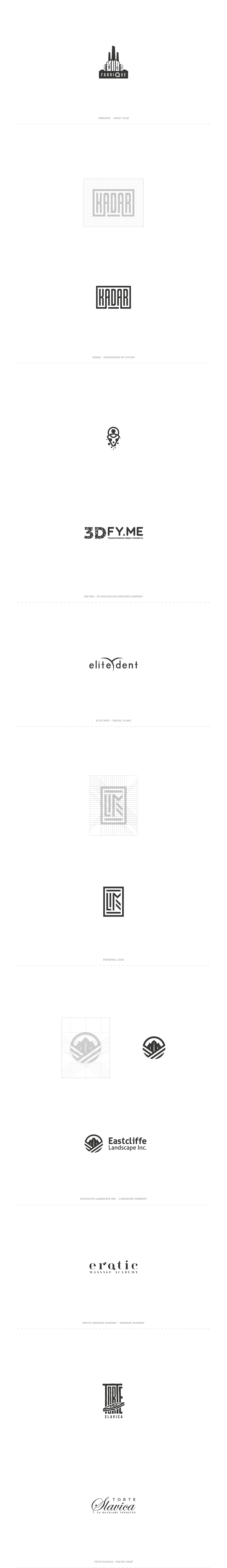 Logo designs by Boris Domazet.