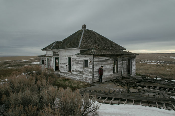 Western Gothic, a series of images taken by Brendon Burton in the new American West.