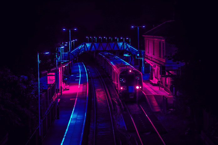 Eugene Tumusiime Photography, Train station.