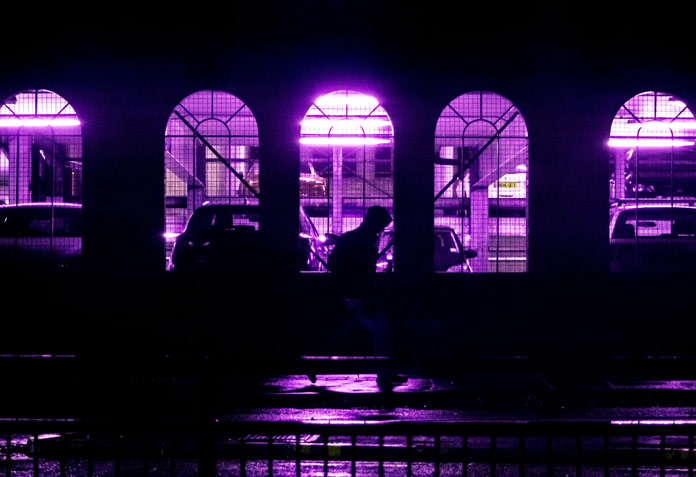 Eugene Tumusiime Photography, Purple lights