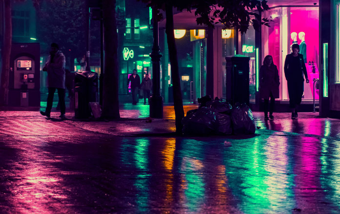 Eugene Tumusiime Photography, Colorful night.