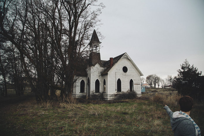 Brendon Burton Photography, Old wooden church.