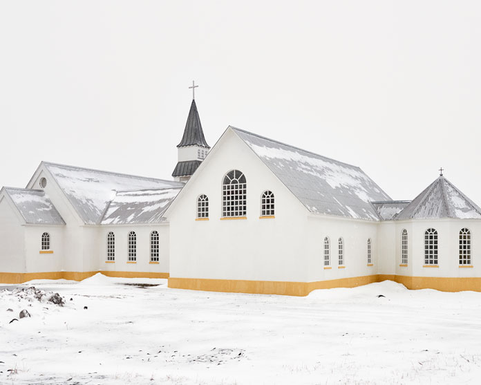 Balint Alovits Photography, A church in the snow.